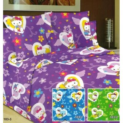 """Детский комплект постельного белья (1,5-спальный) Хлопок/Бязь """"Viola"""" 103-3"""