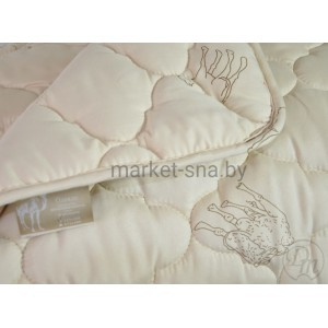 Одеяло «Верблюжья шерсть» Оригинал (2-СПАЛЬНОЕ), 270 гр./м., 172х205см.