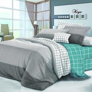 Комплект постельного белья Viola (2-х спальный-Евро) Хлопок (Сатин) Т-095