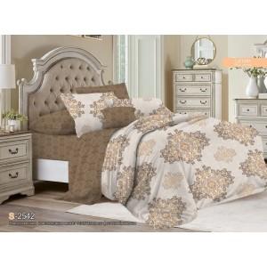 Комплект постельного белья Viola (2-х спальный-Евро) Хлопок (Сатин) Т-109
