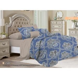 Комплект постельного белья Viola (2-х спальный-Евро) Хлопок (Сатин) Т-110