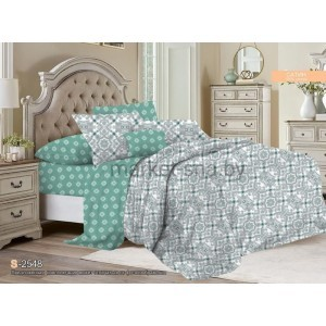 Комплект постельного белья Viola (1,5 спальный) Хлопок (Сатин) Т-112
