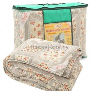 Одеяло «Хлопок» (1,5-СПАЛЬНОЕ, Хлопок/ поплин), 300 гр./м., 142х205см
