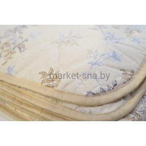 Одеяло детское «Овечья шерсть» (в кроватку/Хлопок), 150 гр./м., 110х140см.