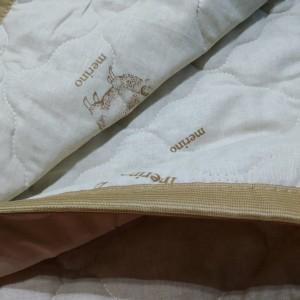 Одеяло «Овечья шерсть» Лиза (ЕВРО/Хлопок), 150 гр./м., 200х220см.