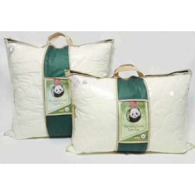 """Подушка """"Натуральный бамбук"""" Премиум (70x70, сумка, съемный чехол - хлопок)"""