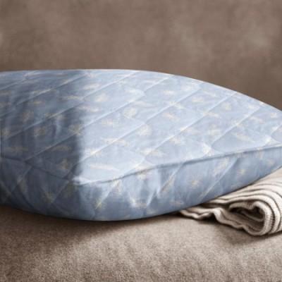 Подушка стёганая «Лебяжий пух» (70x70, бязь)