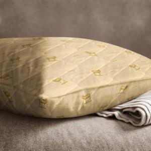 Подушка стёганая «Овечья шерсть» (50x70, бязь)