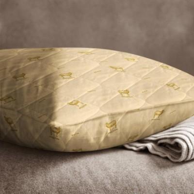 Подушка стёганая «Овечья шерсть» (70x70, бязь)