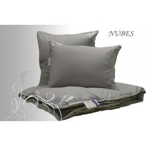Подушка Гусиный пух «Nubes» Lux (50?70, Роял-сатин, хлопок, 100% гусиный пух)