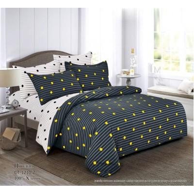 Комплект постельного белья (1,5 спальный) Хлопок (Поплин) CT-1210-Z