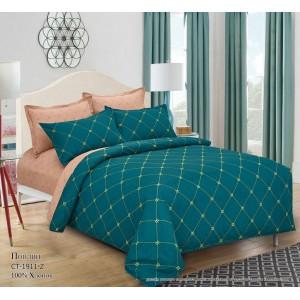 Комплект постельного белья (1,5 спальный) Хлопок (Поплин) СТ-1911-Z