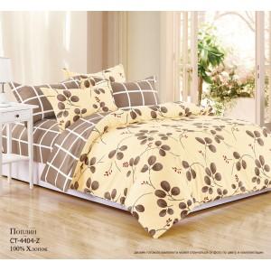 Комплект постельного белья (1,5 спальный) Хлопок (Поплин) СТ-4404-Z