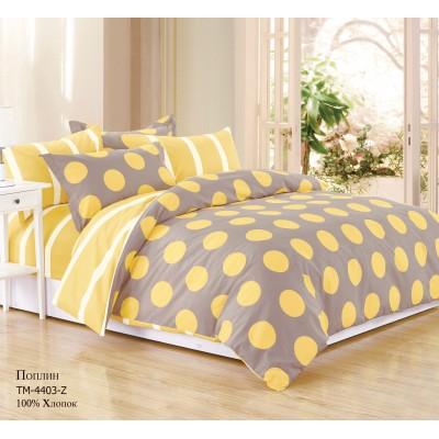 Комплект постельного белья (1,5 спальный) Хлопок (Поплин) CT-4403