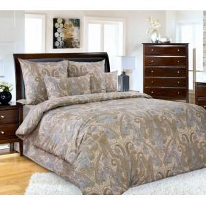"""Комплект постельного белья (1,5 спальный) Хлопок (Перкаль) """"Кашмир"""""""