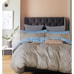 Комплект постельного белья Viola (1,5 спальный) Хлопок (Сатин) Т-242