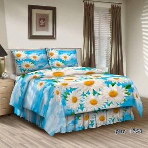 Комплект постельного белья Хлопок/Бязь TUBA-TEX (1,5-спальный) 1758