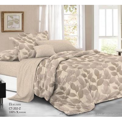 Комплект постельного белья (2-х спальный) Хлопок (Поплин) СT-202-Z