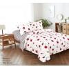 Комплект постельного белья (1,5 спальный) Хлопок (Поплин) CT-1115-Z