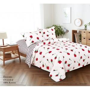 Комплект постельного белья (2-х спальный) Хлопок (Поплин) СТ-1115-Z