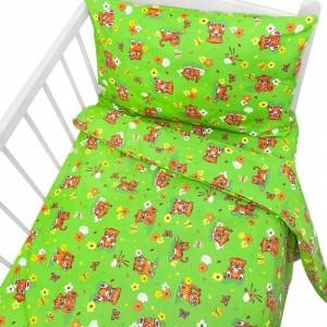 """Детский комплект постельного белья (ясли-кроватка) Бязь Люкс """"Котята"""""""