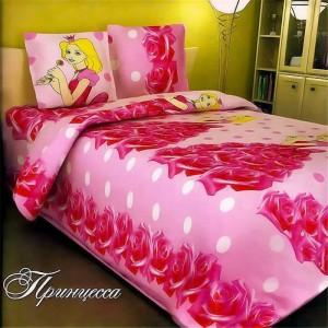 """Детский комплект постельного белья (1,5-спальный) Хлопок/Бязь """"Viola"""" Принцесса"""