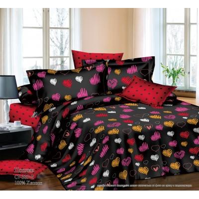 Комплект постельного белья (2-х спальный-Евро) Хлопок (Поплин) СТ-307-Z