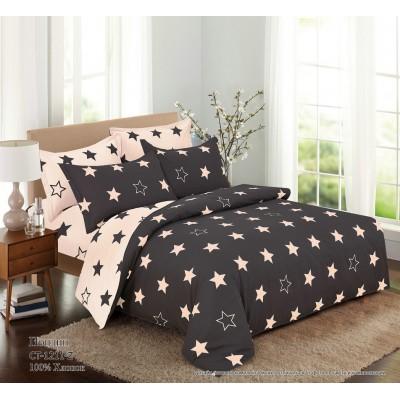 Комплект постельного белья (2-х спальный-Евро) Хлопок (Поплин) СТ-1211-Z