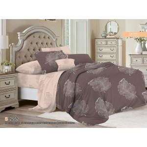 Комплект постельного белья Viola (2-х спальный-Евро) Хлопок (Сатин) Т-114