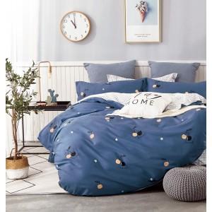 Комплект постельного белья Viola (2-х спальный-Евро) Хлопок (Сатин) Т-263
