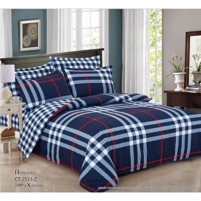 Комплект постельного белья (Евро) Хлопок (Поплин) СТ-2513-Z