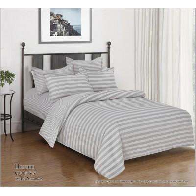Комплект постельного белья (Евро) Хлопок (Поплин) СТ-1407-Z