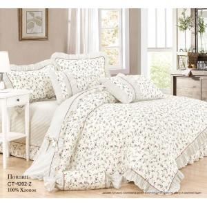 Комплект постельного белья (Евро) Хлопок (Поплин) СТ-4202-Z