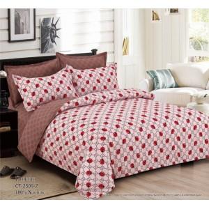 Комплект постельного белья (Евро) Хлопок (Поплин) CT-2509-Z