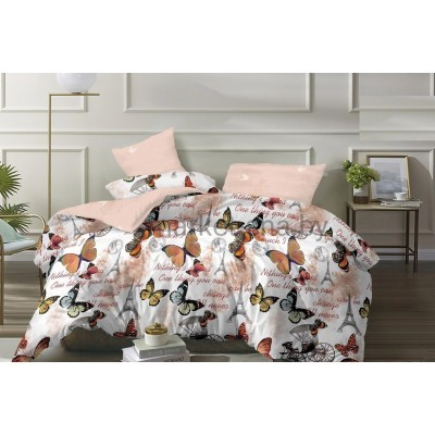 Комплект постельного белья (Евро) Хлопок (Поплин) ПВ2-1130