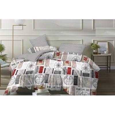 Комплект постельного белья (Евро) Хлопок (Поплин) ПВ2-1128