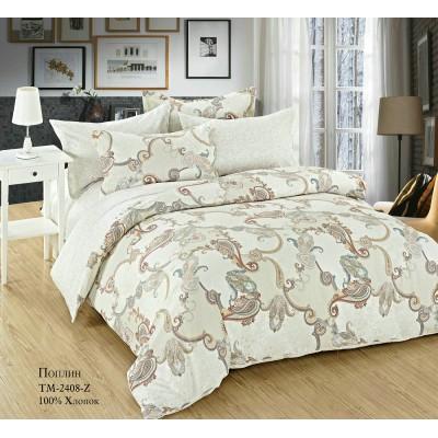 Комплект постельного белья (Евро) Хлопок (Поплин) СТ-2408-Z