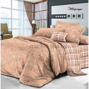 Комплект постельного белья Viola (Семейный/Дуэт) Хлопок (Сатин) Т-091
