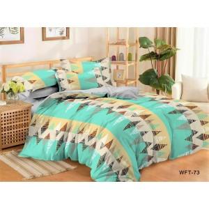 Комплект постельного белья Viola (2-х спальный-Евро) Хлопок (Сатин) Т-097
