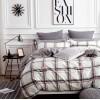 Комплект постельного белья Viola (1,5 спальный) Хлопок (Сатин) Т-246
