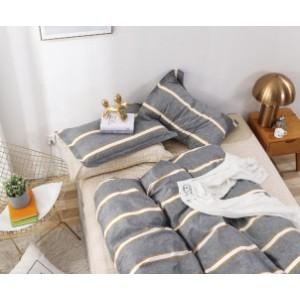 Комплект постельного белья Viola (1,5 спальный) Хлопок (Сатин) Т2-308