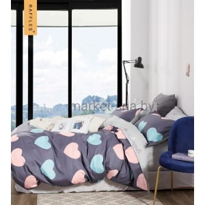 Комплект постельного белья Viola (1,5 спальный) Хлопок (Сатин) Т2-331